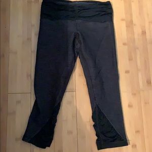 Lululemon leggings with ruched detail